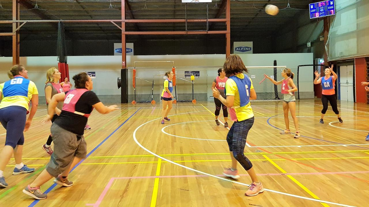 GRAND FINAL SHOWDOWN: The Pink Ladies and The Devils will go head to head tomorrow night for the gold medal at the Stanthorpe Fitness Centre