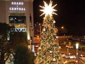 Toowoomba's giant Christmas tree to be turned on