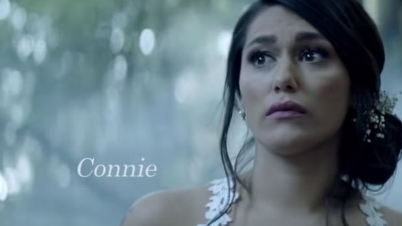Connie looks absolutely terrified in the MAFS promo.