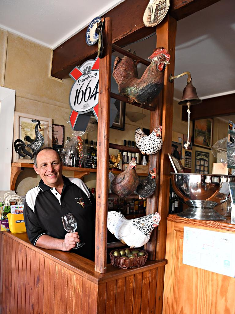Thierry Clerc says the support of the Flaxton locals had been incredible over the years.