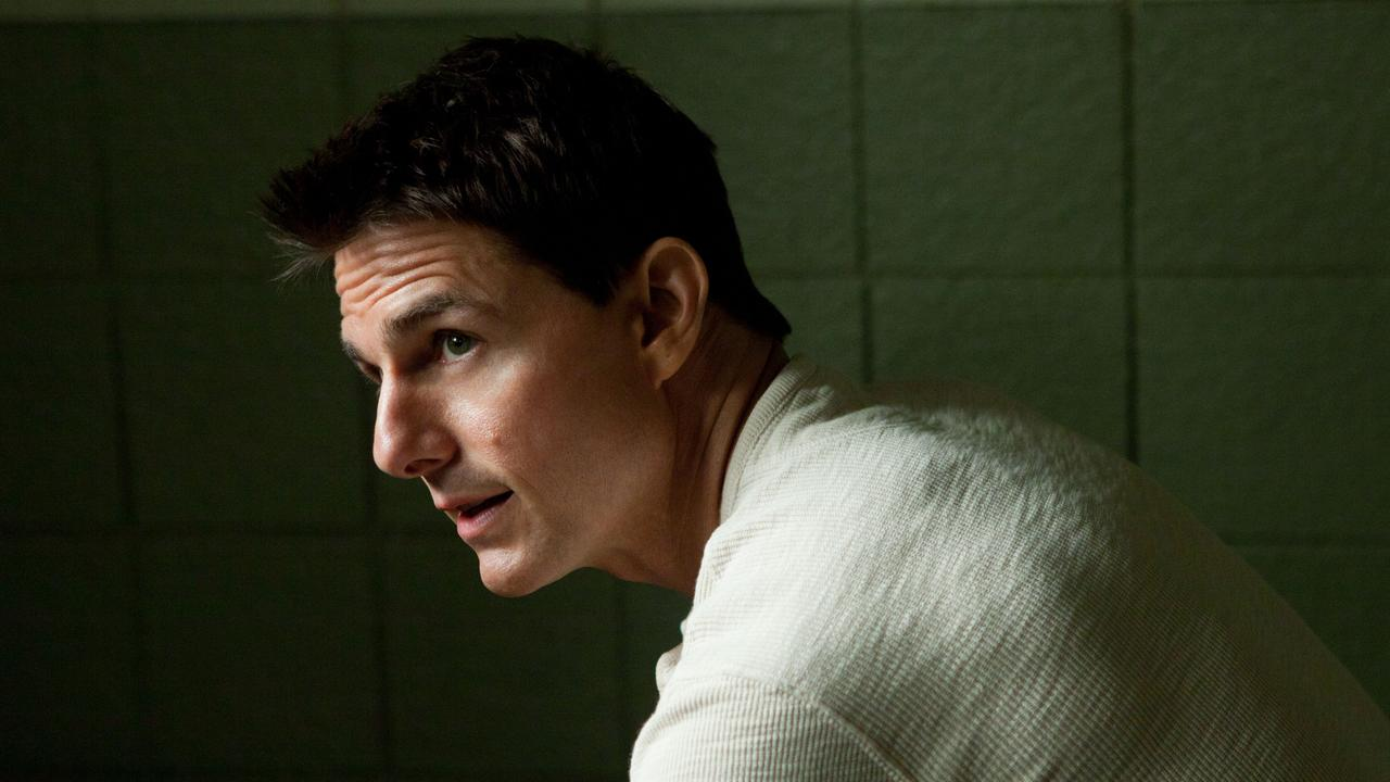 Tom Cruise as Jack Reacher.