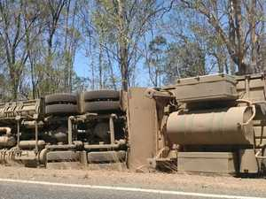 Cattle truck carrying 120 head crashes on Isis Hwy