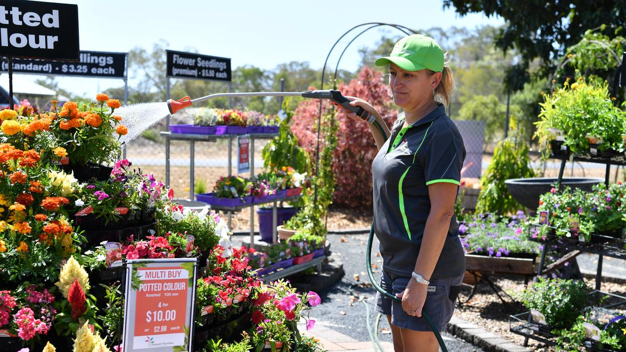 Hervey Bay horticulturalist Fiona Smart says water restrictions don't have to take a toll on your garden.