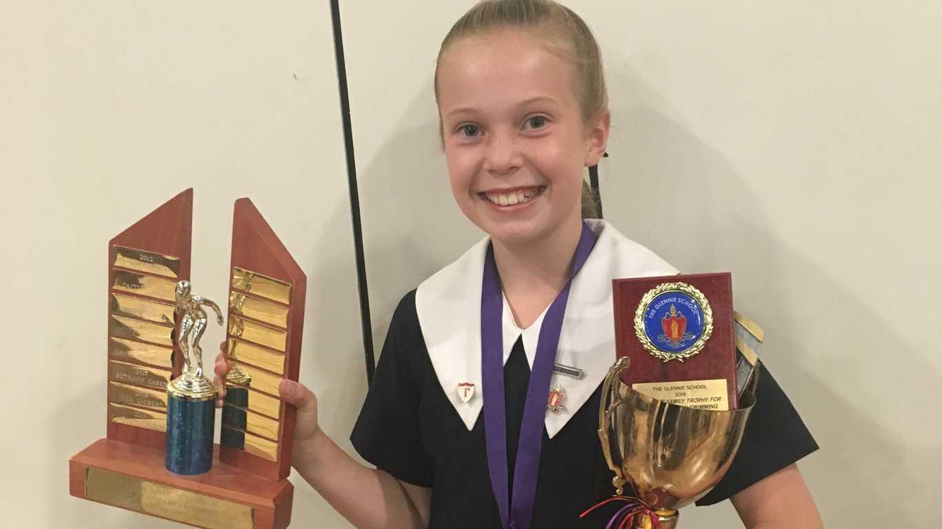 Caitlyn Garratt was named The Glennie School Prep to Year 6 Sports Girl of the Year.