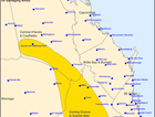 BoM has issued a severe storm warning for the Darling Downs and Granite Belt.