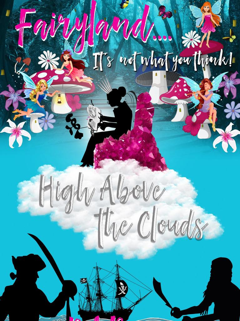 MAGIC: Eumundi Markets' iconic Indian Fairy, Debbie Bronson, has released her first novel 'Fairyland … It's not what you think! High Above the Clouds'.