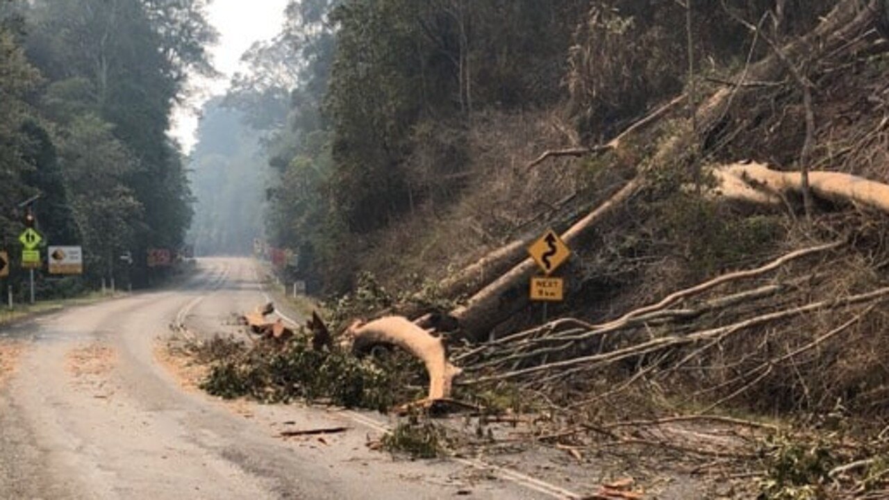STILL CLOSED: The Cunningham Highway still remains closed, however might face a new, ongoing issue.