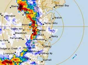Major storm 'mayhem' smashes Sydney