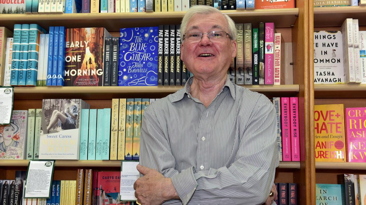 NEW CHAPTER: Ross Burgess at Mary Ryan's Books at Bay Village. Photo: Geoff Potter