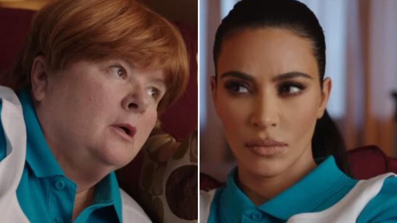 Magda Szubanski did an Uber Eats commercial with Kim Kardashian.