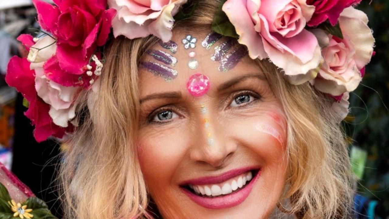 MAGIC: Eumundi Market's iconic Indian Fairy, Debbie Bronson.