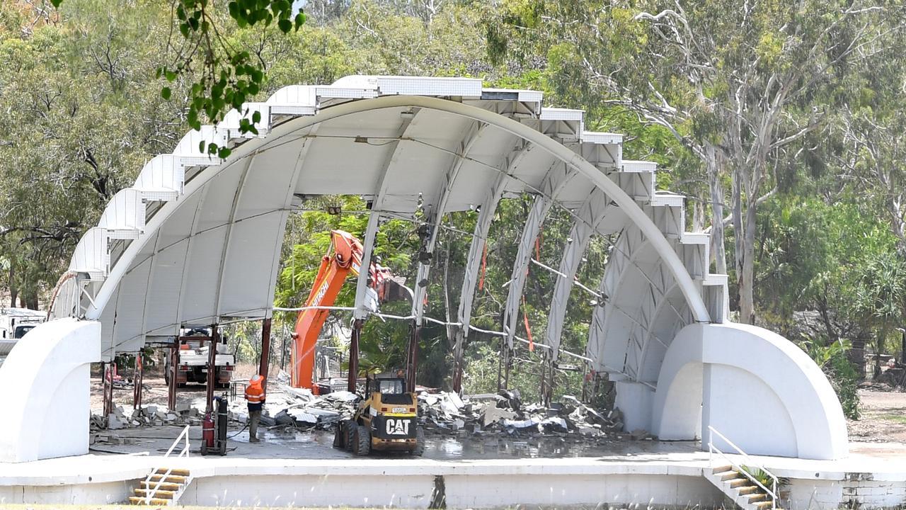 Rockhampton's Music Bowl is under demolition