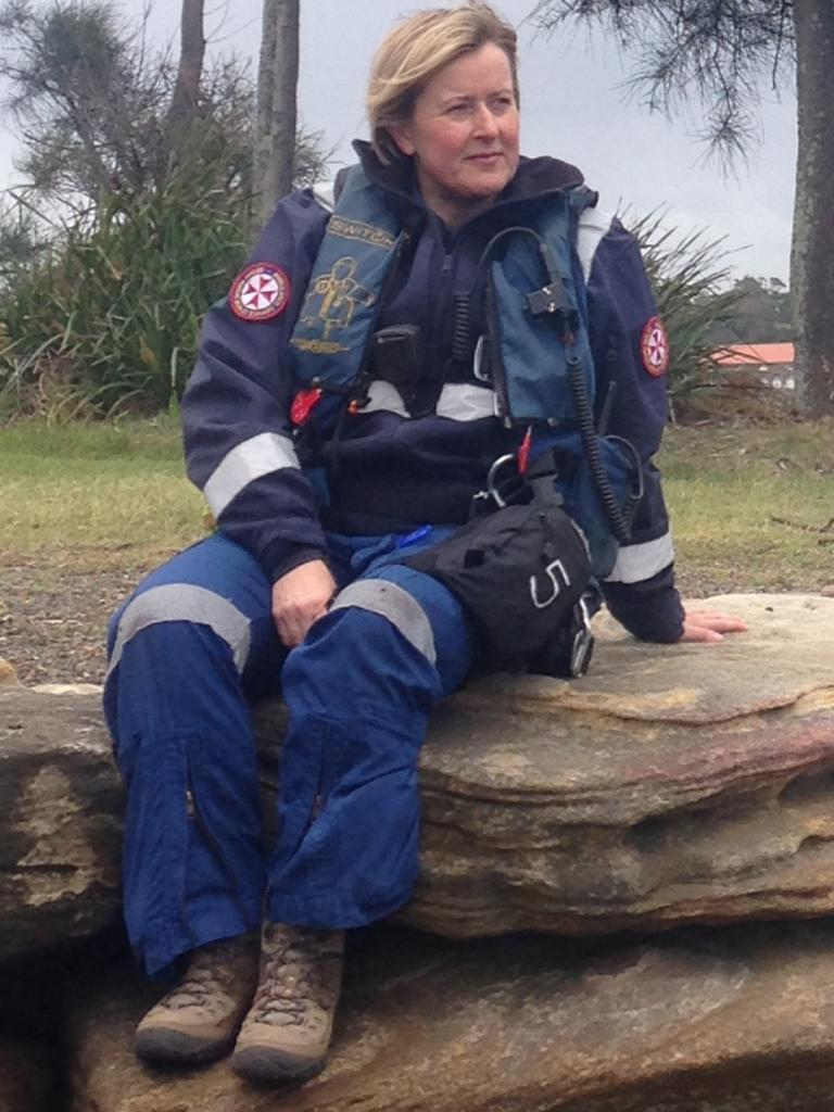 NSW Ambulance critical care emergency Doctor Sarah Coombes.