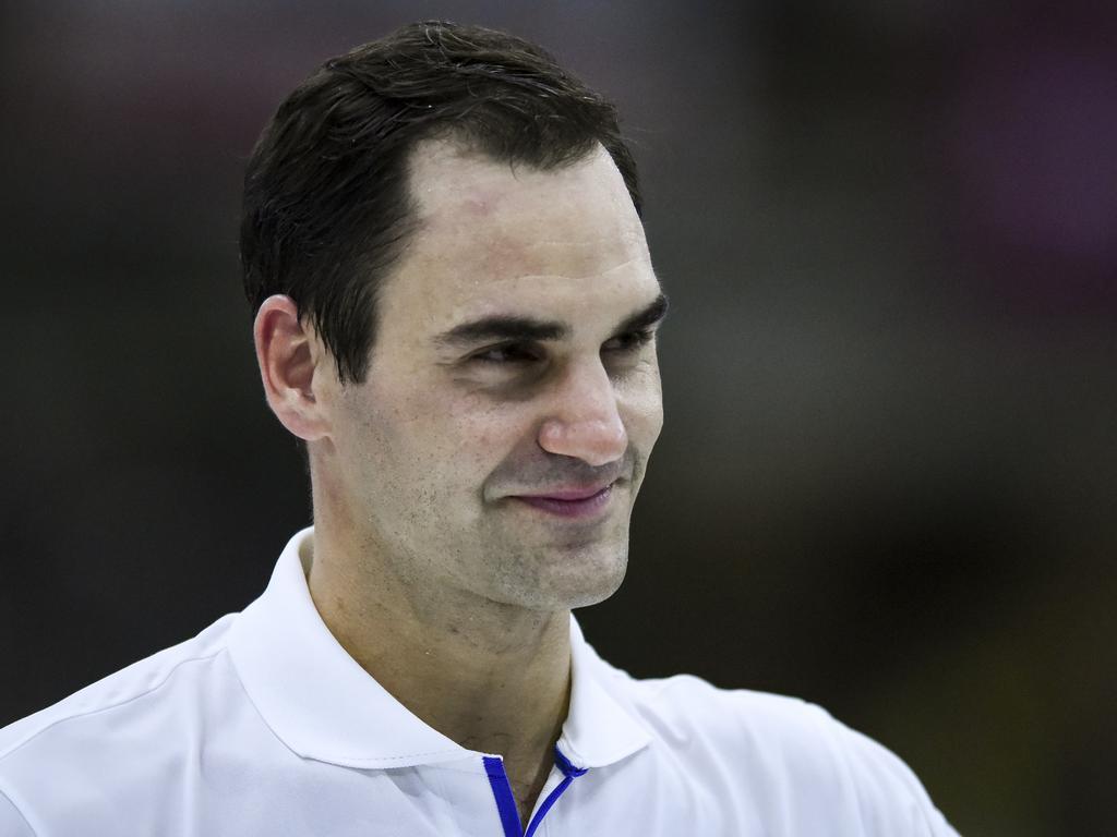 Federer isn't ever leaving.
