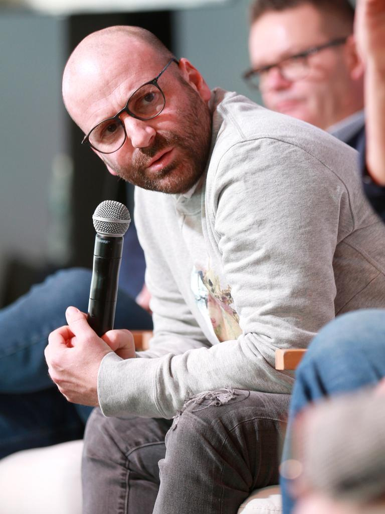 """Calombaris says shutting the restaurant was """"bittersweet"""". Picture: AAP"""