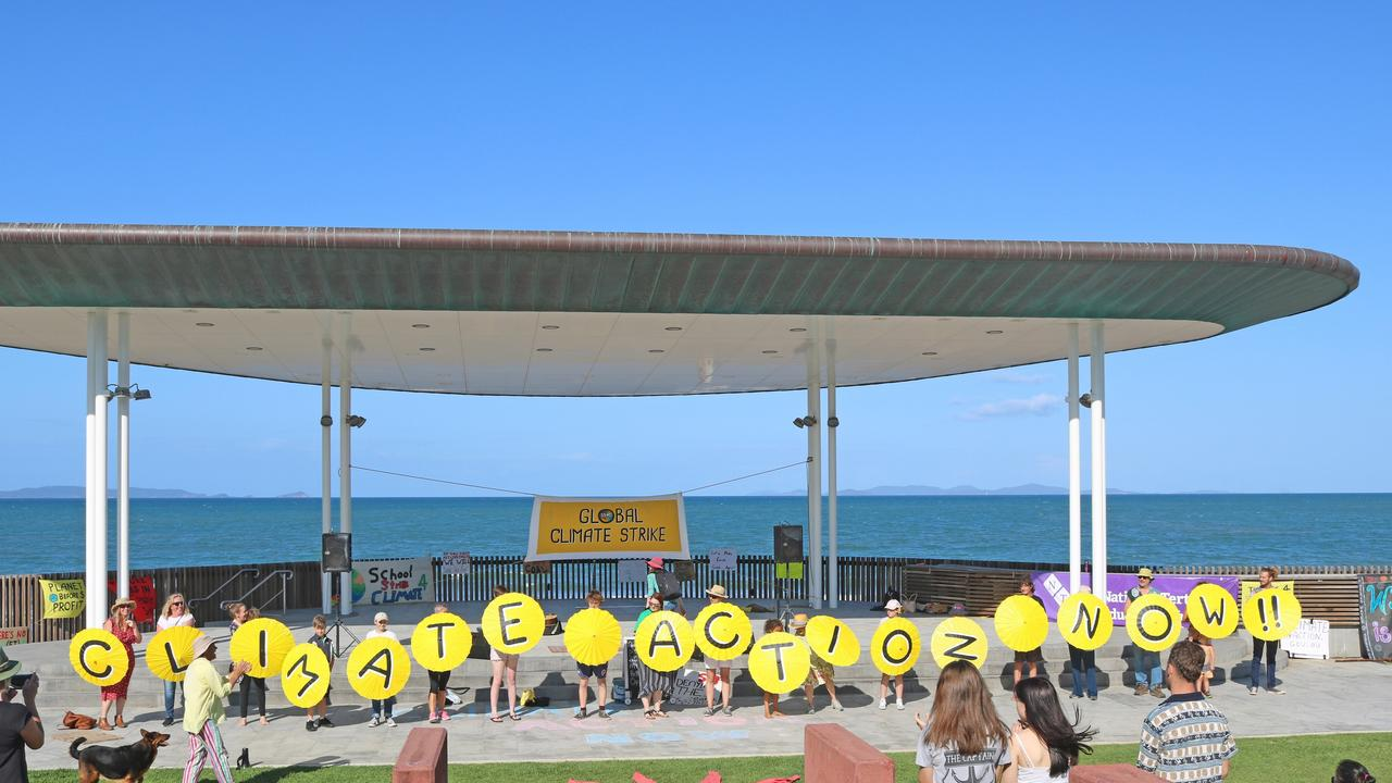 Malcolm Wells tiook this photo at the Yeppoon Global Climate strike rally on September 20, 2019.