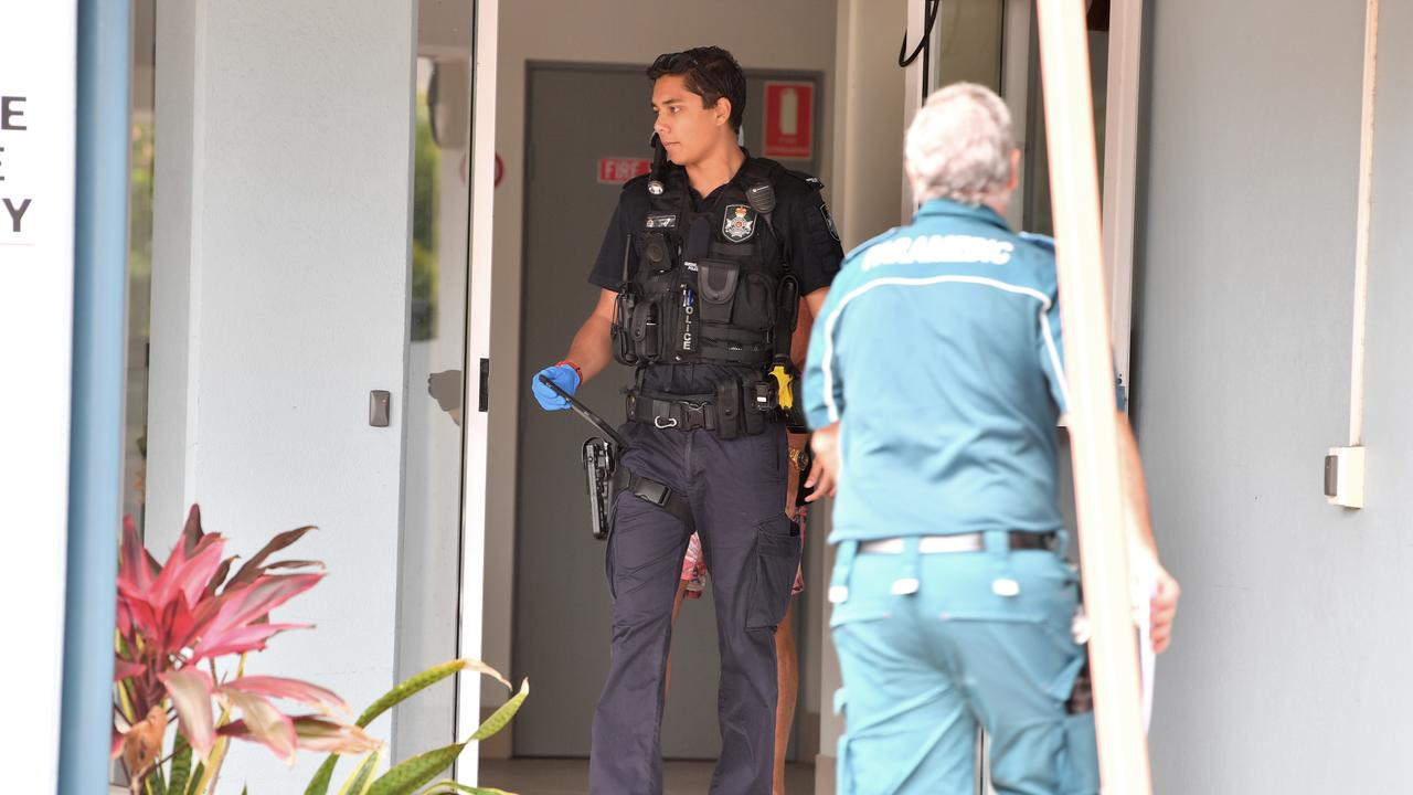 Police investigate a death in Maroochydore. Photo: John McCutcheon / Sunshine Coast Daily