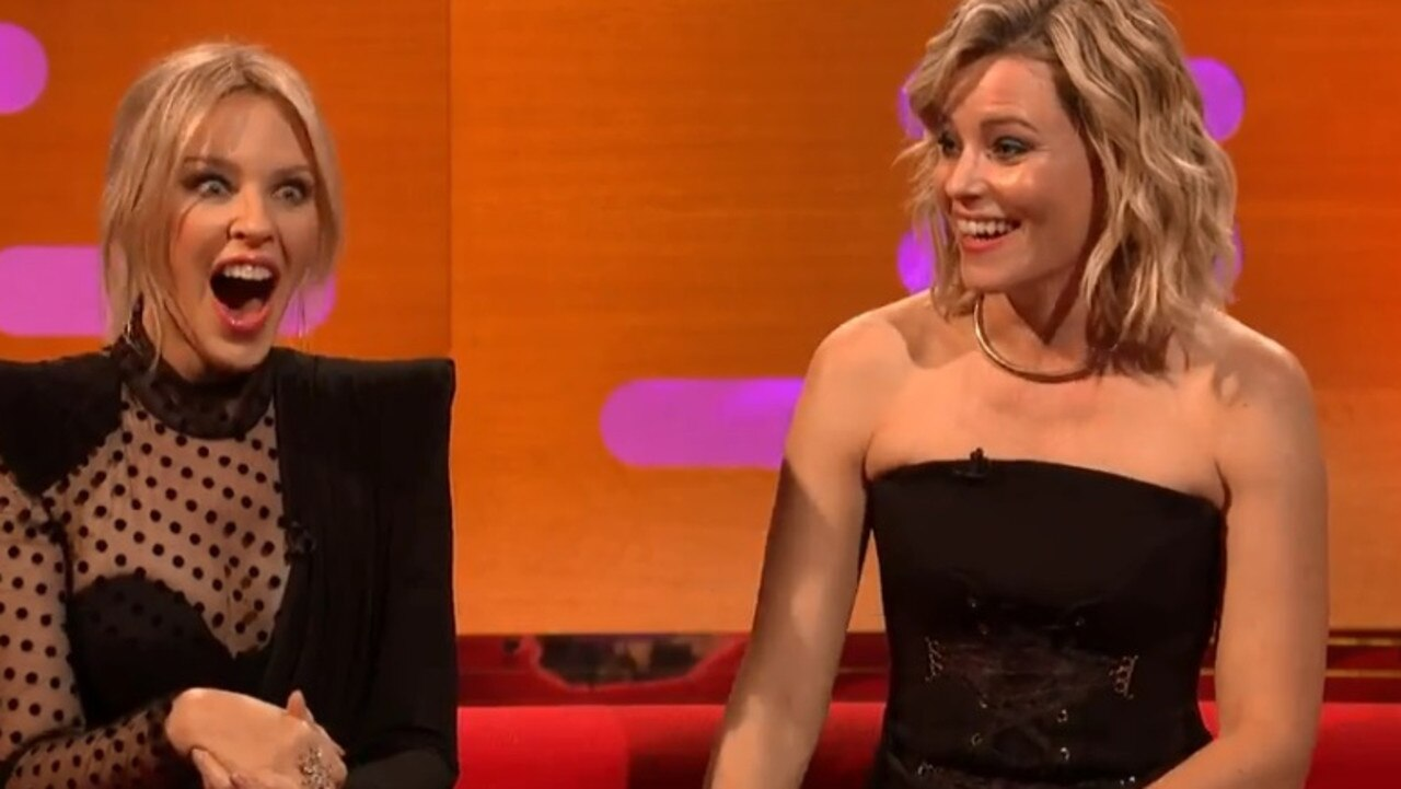 Elizabeth Banks made a joke about Prince Andrew during her appearance on The Graham Norton Show.