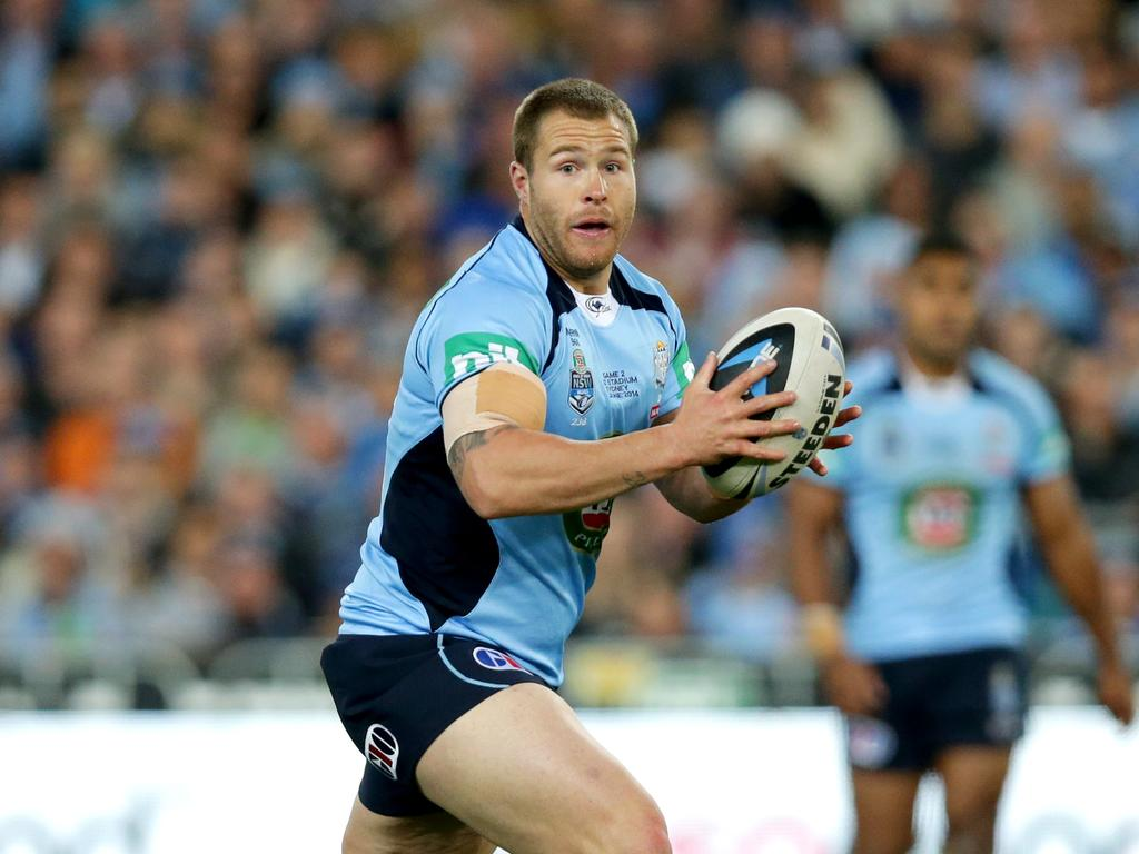 Trent Merrin played 13 State of Origin matches.