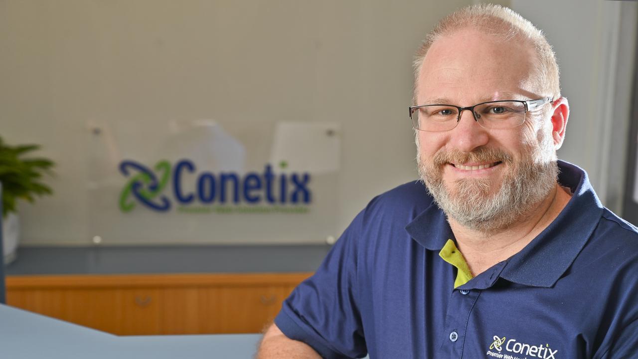 Conetix CEO Jamin Andrews. Photo: Cordell Richardson