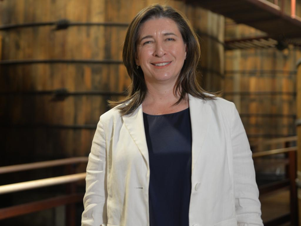 Queensland Senator Susan McDonald visits the Bundaberg Rum Distillery.