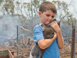 Seaside community fled ferocious, fast-moving blaze