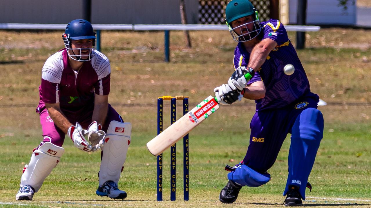 Gympie Regional Cricket Association - Valleys v Colts Valleys Steven O'Brien photos Zahner Photography.
