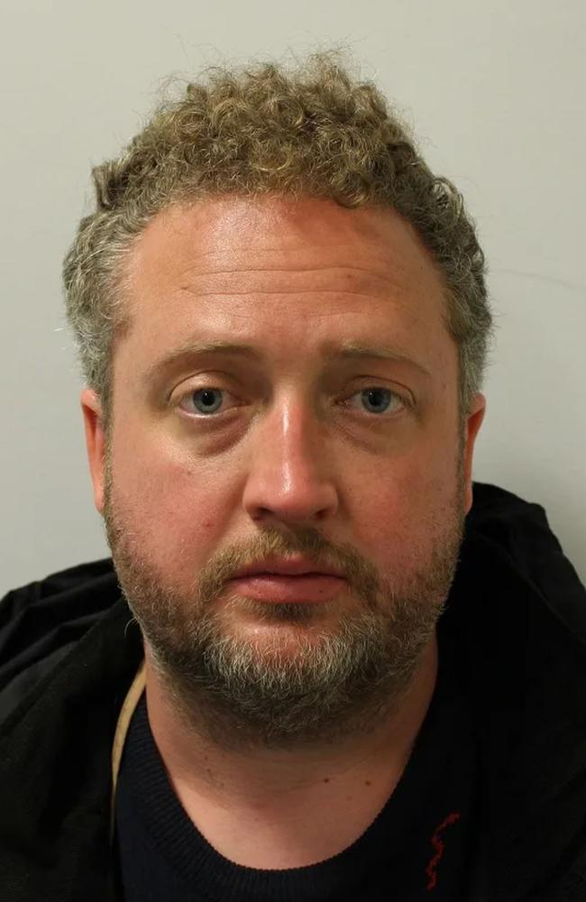 Roderick Deakin-White will spend the rest of his life behind bars. Picture: Supplied by Metropolitan Police