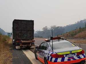 Police fine speeding, unlicensed, unregistered truckie $4191