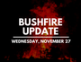 FIRE UPDATE: Latest Clarence bushfire information