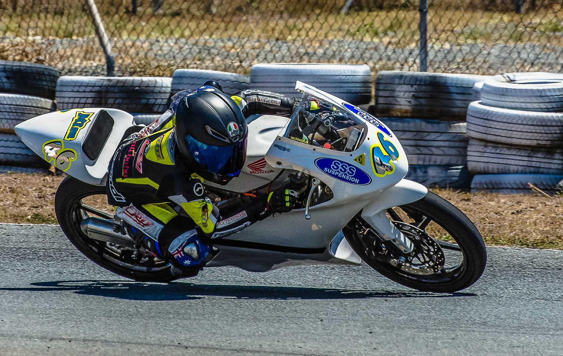 Marianos Nikolis 1st Place 85cc / 2 stroke Champion 2019