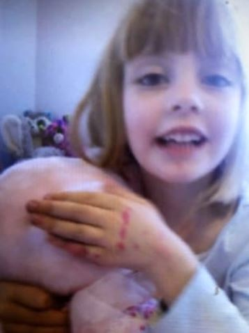 Five-year-old Natasha Gorjup who was found unresponsive in a car at a family home at Tanilba Bay. Pic supplied