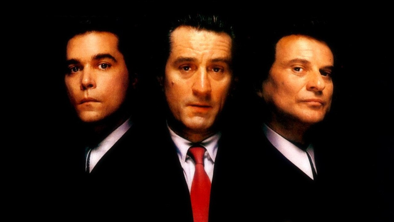 Ray Liotta, Robert De Niro and Joe Pesci in the masterpiece Goodfellas. Picture: Supplied