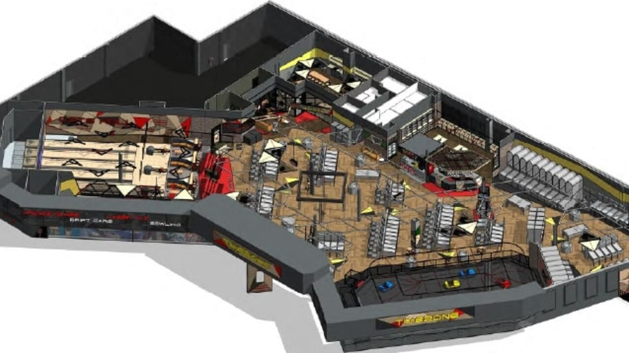A first-look of what the new Timezone at the Sunshine Plaza will look like.