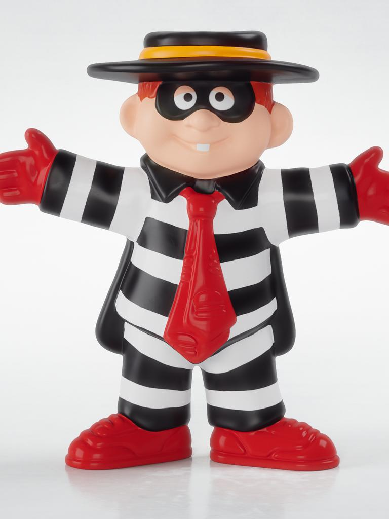 Hamburglar Happy Meal toy from 1995.