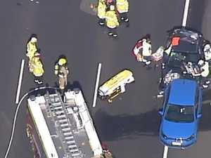 'Terrifying scene': Child killed in serious M5 crash