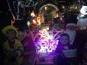 Bragging rights on offer in Christmas lights comp
