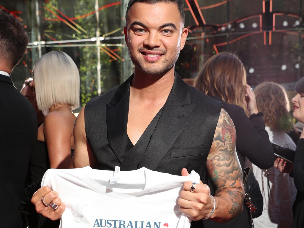 Among the glitz and glamour of prestigious awards night, host Guy Sebastian, recording artist DJ Havana Brown and Triple J Hottest 100 winners Ocean Alley all displayed T-shirts supporting the press freedom campaign which saw media companies across the country unite in an unprecedented action.