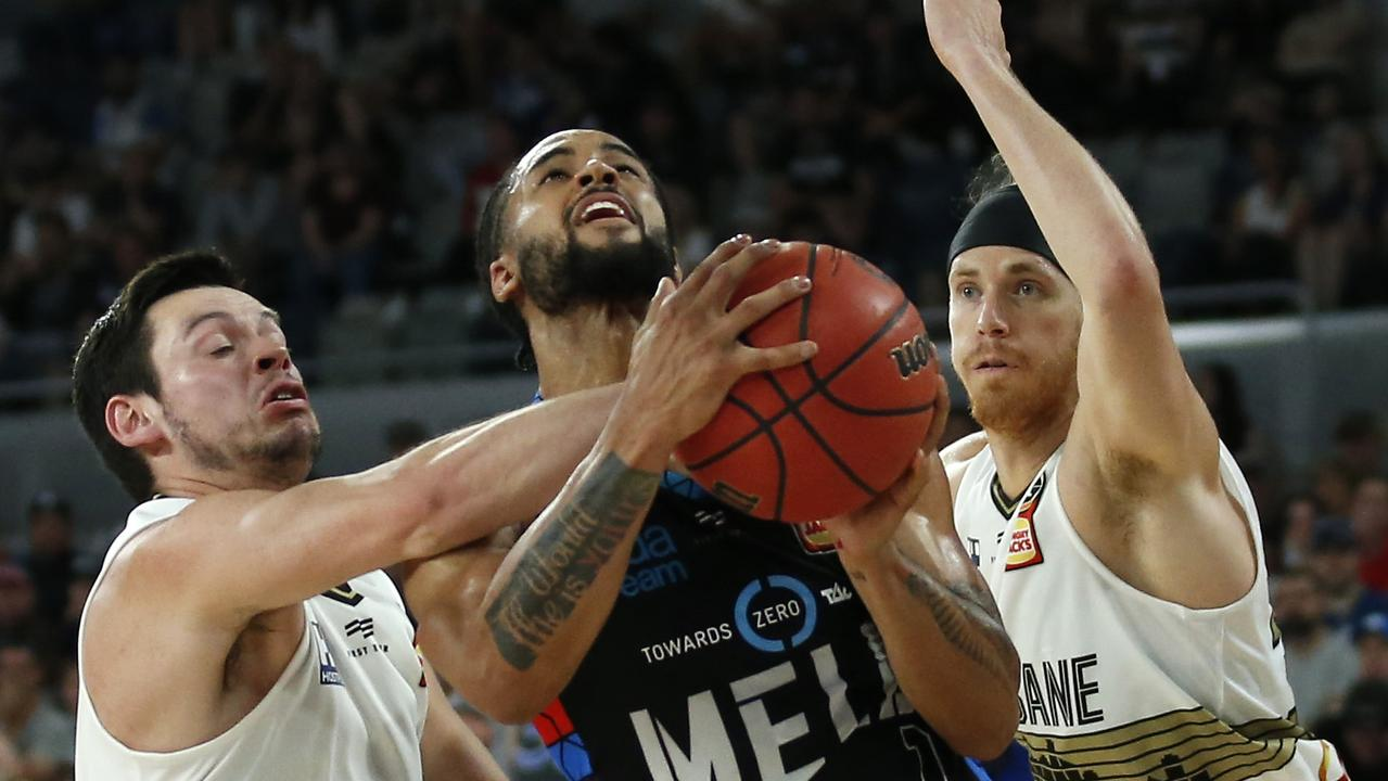 MELBOURNE, AUSTRALIA – NOVEMBER 24: Melo Trimble of United drives to the basket during the round 8 NBL match between Melbourne United and the Brisbane Bullets at Melbourne Arena on November 24, 2019 in Melbourne, Australia. (Photo by Darrian Traynor/Getty Images)