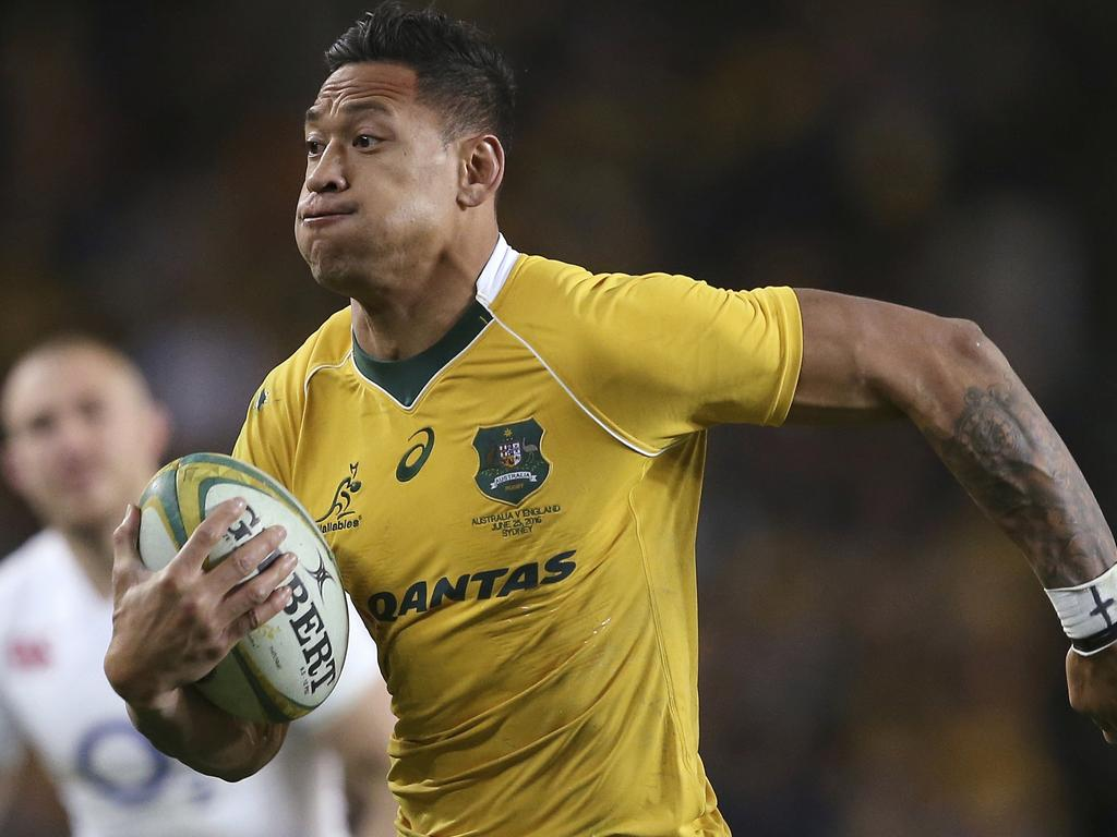 Israel Folau played 62 Test matches for Australia.