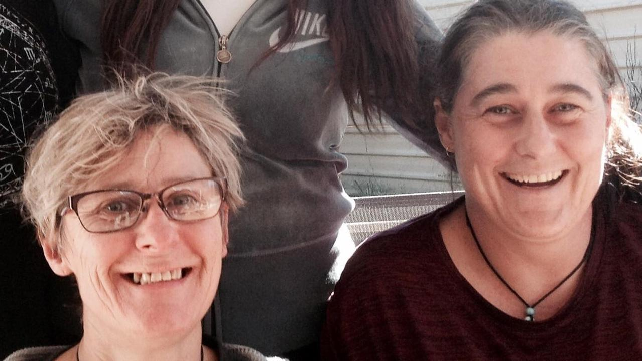 Alice Springs locals Claire Hockridge, 46, and Tamra McBeath-Riley, 52, were travelling together in a white Mitsubishi Triton 4WD crewmen with SA number plates. They were also travelling with a South Australian man named Phu Tran, 40, who is also reported as missing.