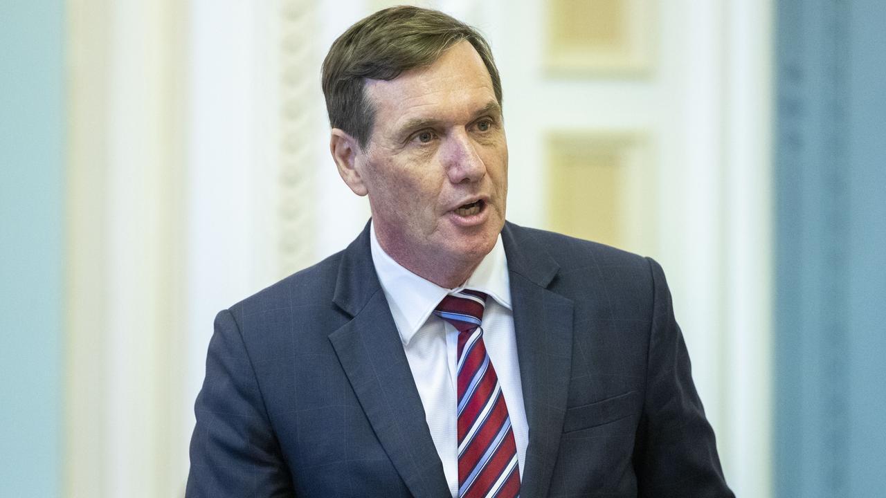 Mines Minister Anthony Lynham. Picture: AAP Image/Glenn Hunt