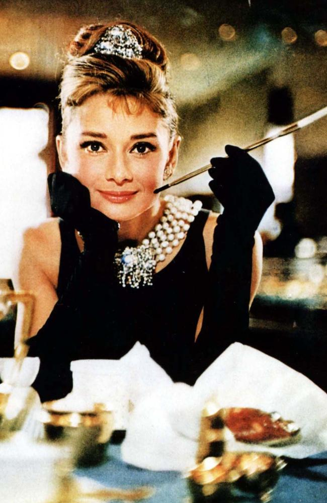 Audrey Hepburn in Breakfast at Tiffany's. Picture: Supplied