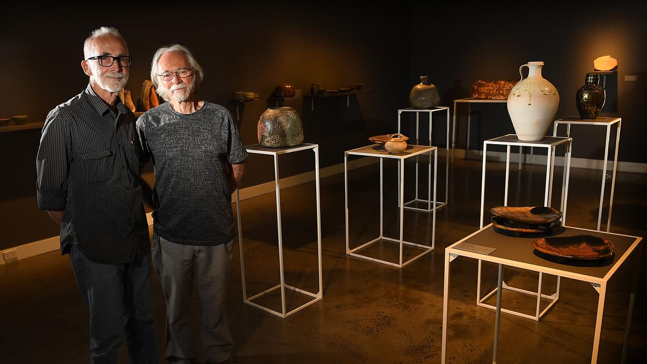 ANCIENT CRAFT ON SHOW: Woodfire artists Tony Nonkervis and Kerry Selwood will exhibit works as part of the The Alchemist: North Coast Wildfire exhibition at the Lismore Regional Gallery.