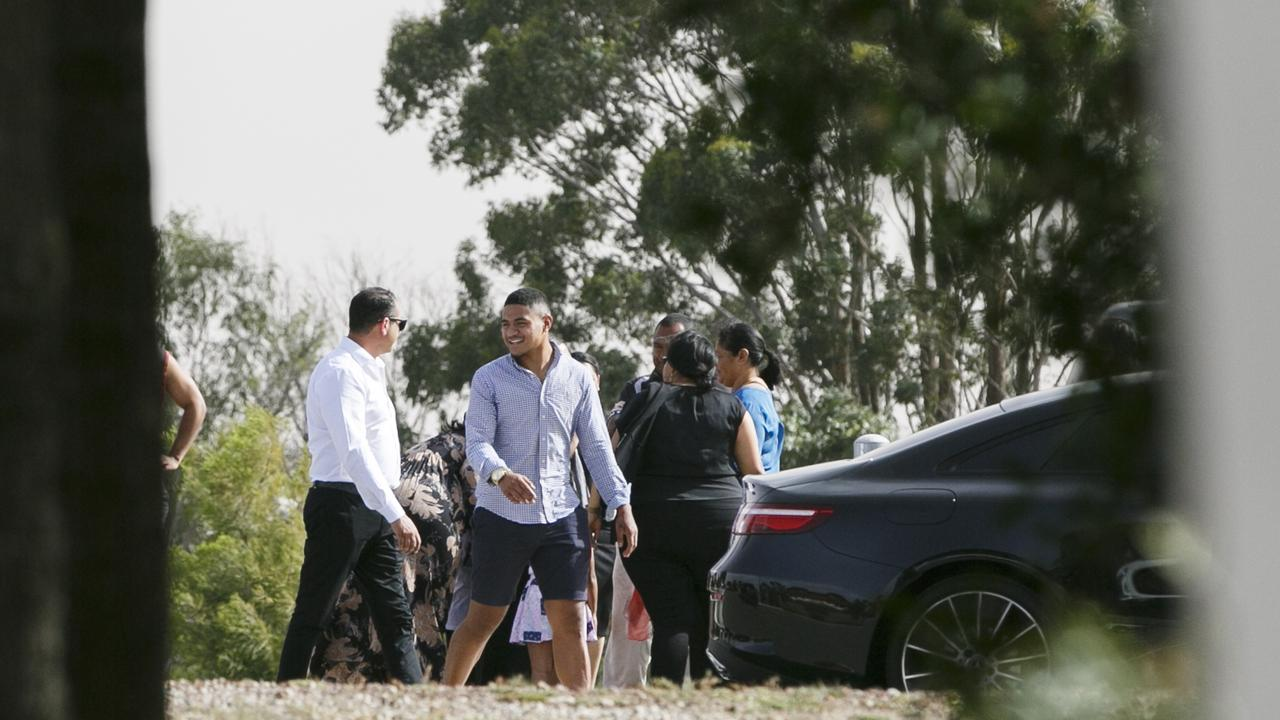NRL player Manase Fainu was released on bail last month.