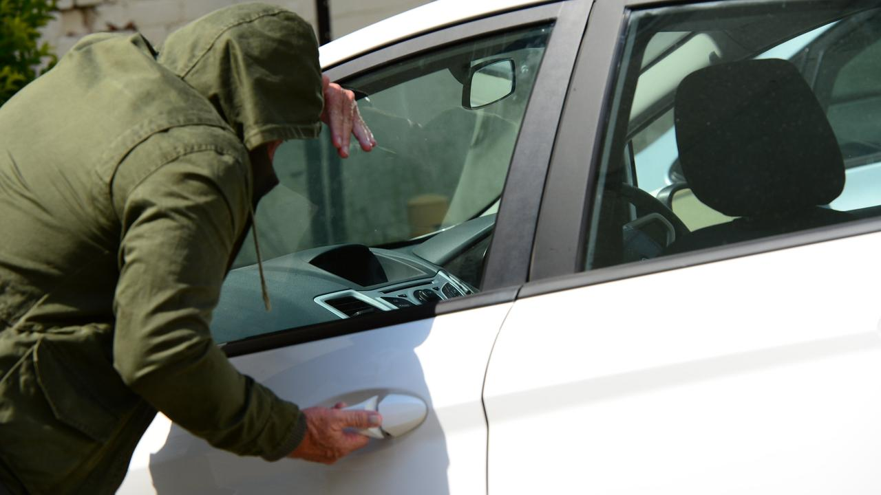 Police urge people to lock their property after a rise in opportunistic thefts. Photo: Sharyn O'Neill