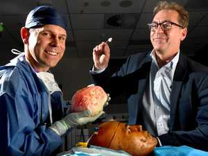 World-first operation on a 3D-printed brain