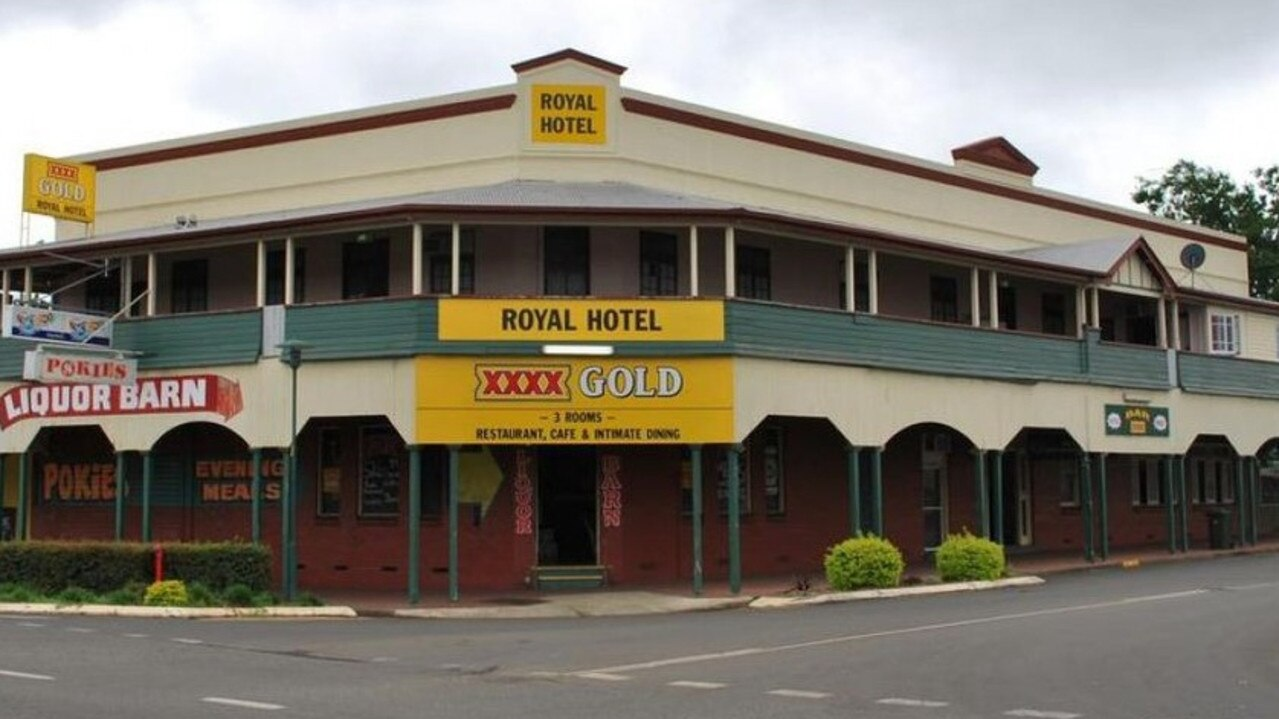 DREAM JOB? The Royal Hotel in Murgon is up for sale. (Photo: realcommercial.com.au)