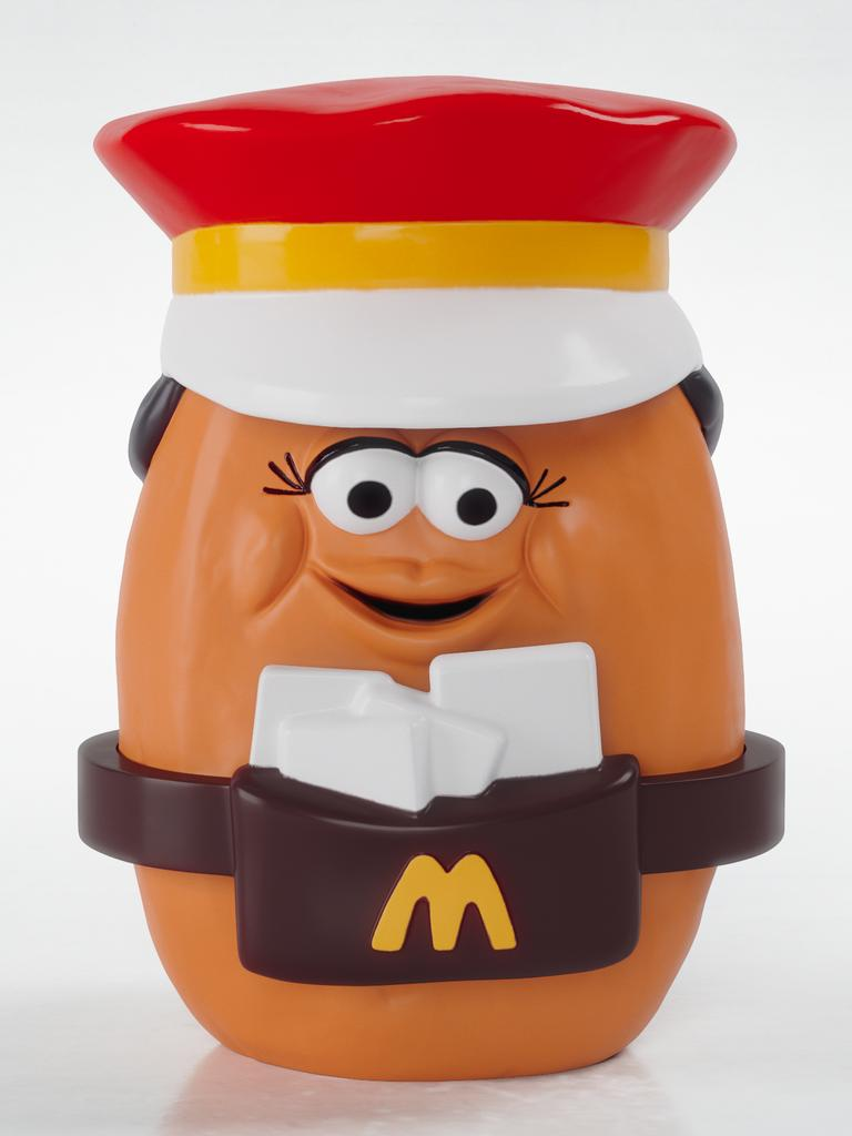 McNugget Mail Carrier Happy Meal toy from 1988.