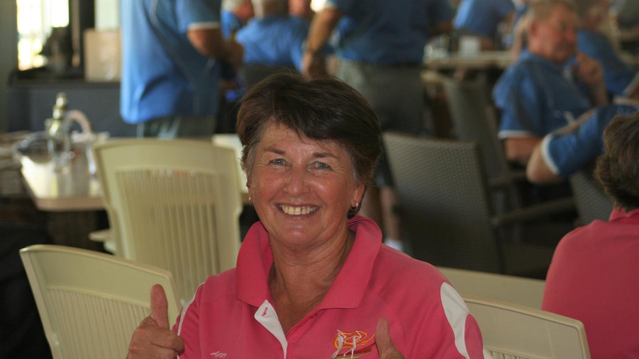 Ann Cass had an eagle on hole seven at the South Burnett Veterans Golf 4BBB at Kingaroy Golf Club.